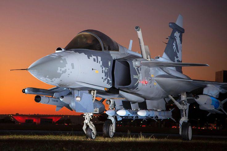 Saab está confiante com o potencial de exportação do Gripen NG