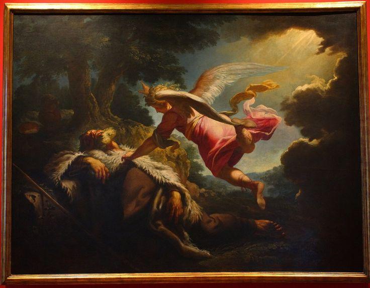 Petr BRANDL - sen proroka Eliáše, 1724