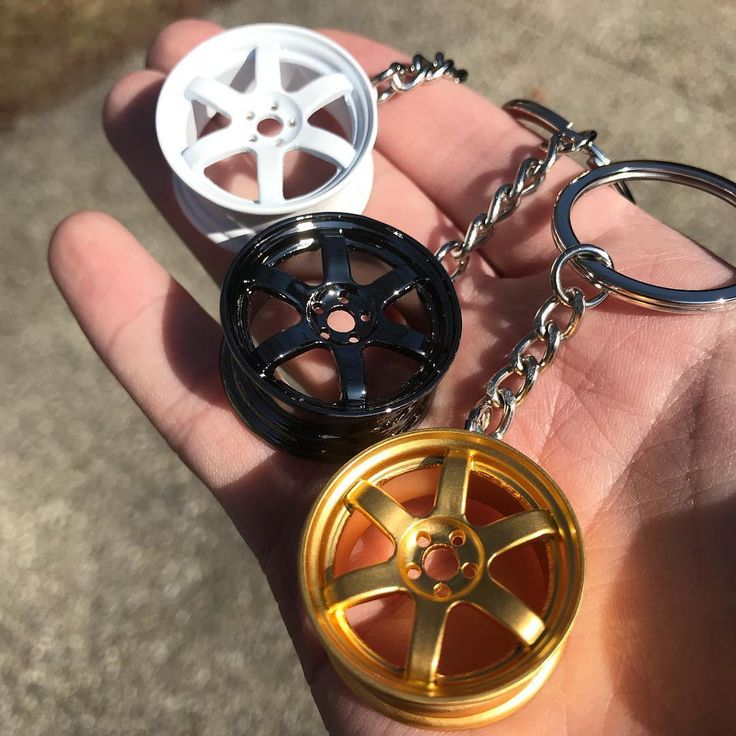 TE37 Style Wheel Keychains at www.TunerGear.com - Click the link in our bio to buy! - #turbo #audi #r8 #carenthusiast #jdm #carporn #stance #ford #subaru #gtr  #ferrari #import #driftcar #builtnotbought #nos #camber #stance #slammed #wrx #sti #cars #carsofinstagram #piston #engine #stancenation #jdmgram #mechanic