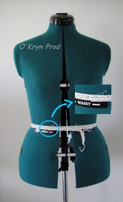 Ajuster son mannequin de couture #2