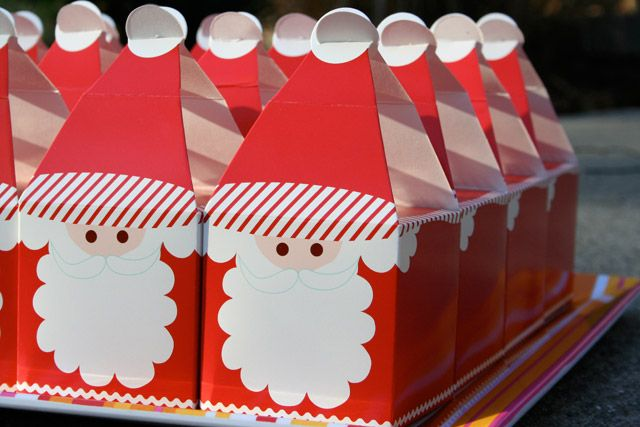 Cajitas para regalitos de navidad