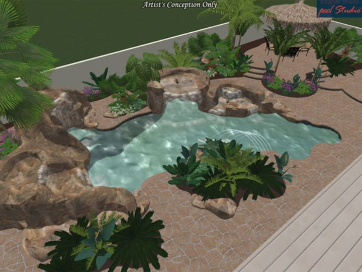 complete spa and pool local new swimming pool construction new swimming pool design and new swimming pool sales in oakville mississauga burlington and - Backyard Pool Design Ideas