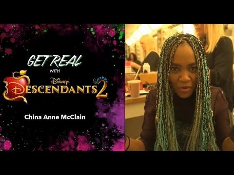 China Anne McClain Dishes On Sword Fighting For 'Descendants 2′ | China McClain, Descendants, Movies | Just Jared Jr.