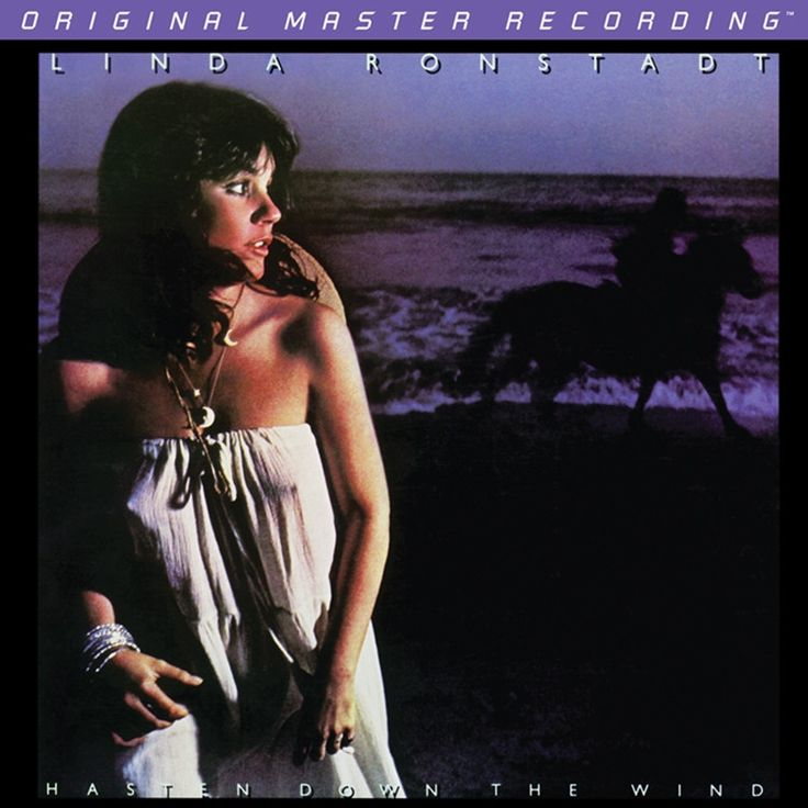 LINDA RONSTADT - HASTEN DOWN THE WIND (NUMBERED LIMITED EDITION 180g Vinyl LP)