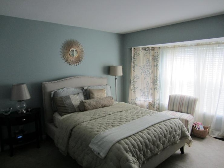 Sherwin Williams Quietude Paint Colors Pinterest Master Bedroom
