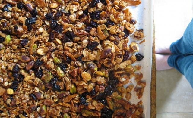 Eleven Madison Park Granola Recipe | Cereal & Granola | Pinterest