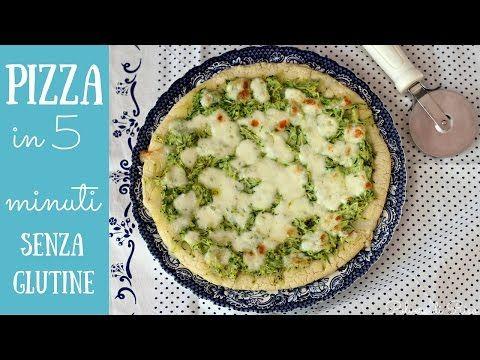 PIZZA veloce SENZA GLUTINE | Polvere di Riso - YouTube