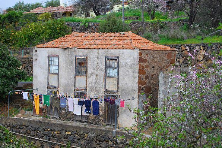 De was droogt goed in Las Tricias