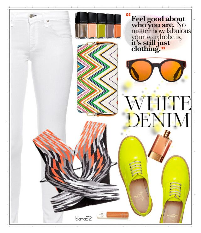 """""""Bright summer"""" by tiana212 ❤ liked on Polyvore featuring Tory Burch, Christian Louboutin, rag & bone, Alexander Wang and Givenchy"""