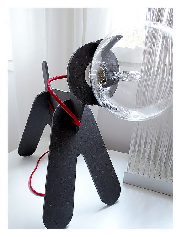 Get Out lamp from Eno. Designed by Clothilde & Julien
