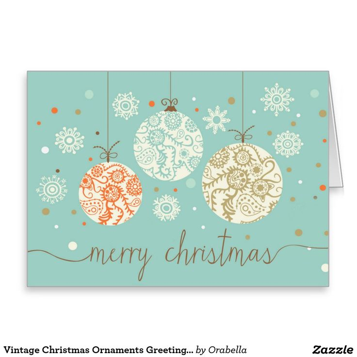 112 best simply christmas cards images on pinterest christmas vintage christmas ornaments greeting card m4hsunfo Image collections