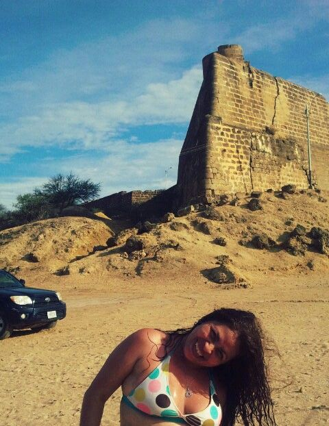 En el Golfo de Cariaco, el Castillo de Araya - Venezuela