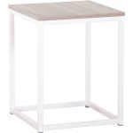 BIG W Oak Coastal Box Frame Side Table