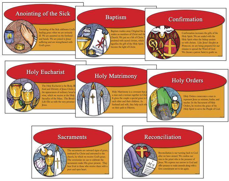 25+ best ideas about Catholic sacraments on Pinterest   Catholic ...
