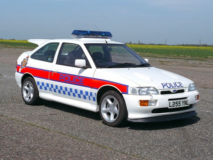 Ford Escort RS Cosworth Police Car
