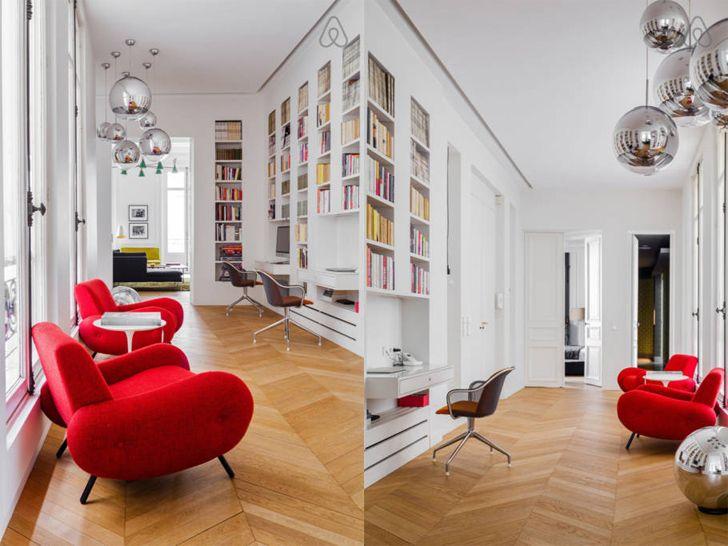 Изящные современные апартаменты для семьи в Париже | Пуфик - блог о дизайне интерьера