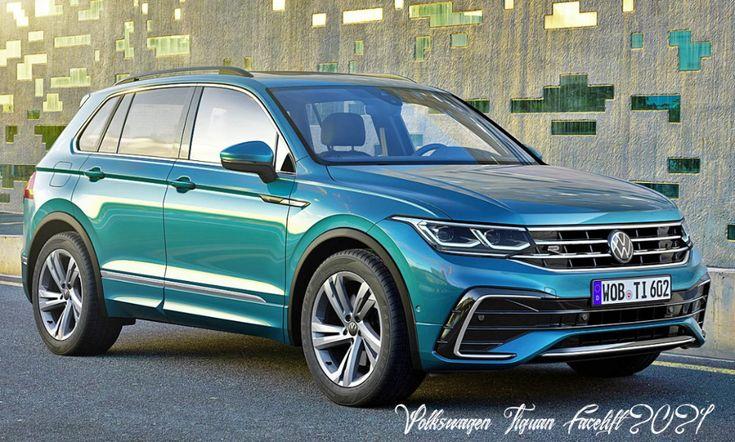 Vw Tiguan Facelift 6 Preis Allspace R Line Autozeitung