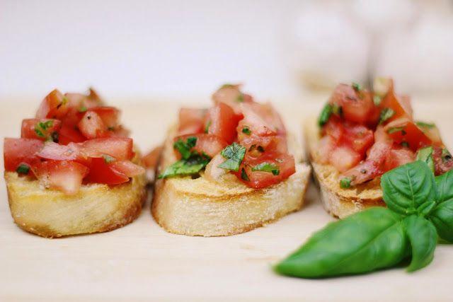 Bella Italia ♥♥♥ - Bruschetta mit Tomaten