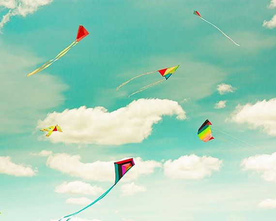 clouds photography sky whimsical kite festival by mylittlepixels