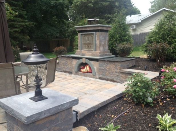224 best images about cambridge on houzz on pinterest for Precast concrete outdoor fireplace kits