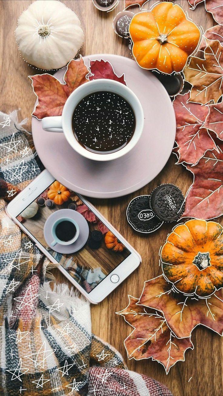 Картинки осень и кофе красивые, картинки
