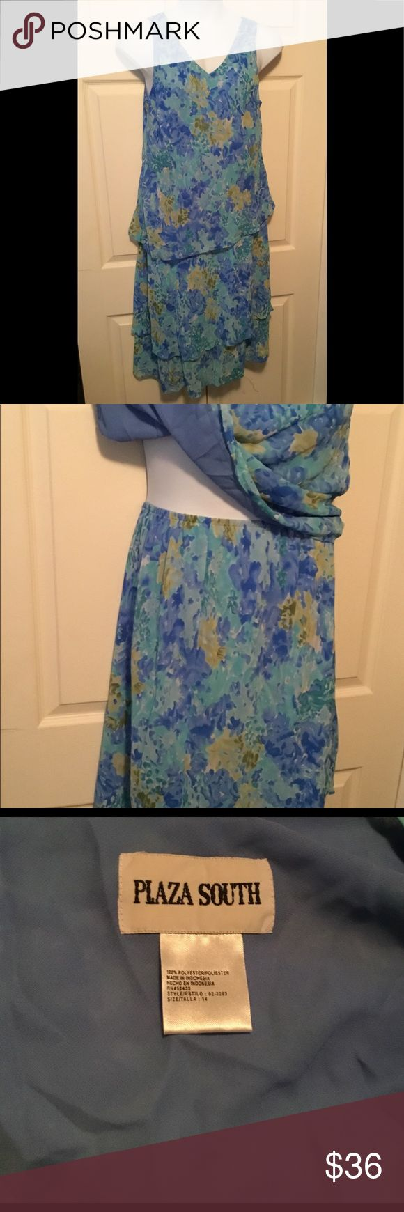 Vintage Plaza South Floral Two Piece Skirt Set In good used condition. Vintage S... 2