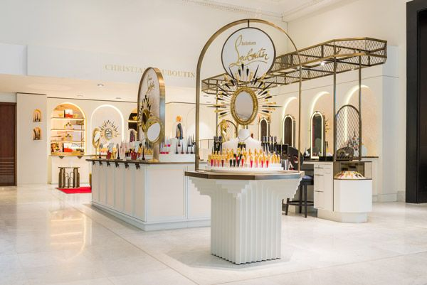 Christian Louboutin unveils beauty studio in Selfridges - Retail Focus - Retail Blog For Interior Design and Visual Merchandising