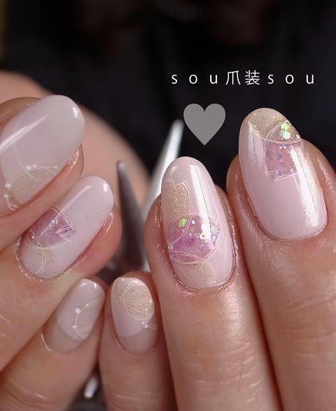 薄花桜|nail salon 爪装 ~sou-sou~ (入間・狭山・日高・飯能 自宅ネイルサロン)