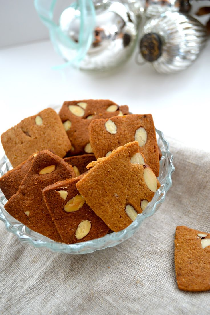 The Smoothie Lover: Danish Ginger Cookies. A great little Danish Christmas biscuit with spices.