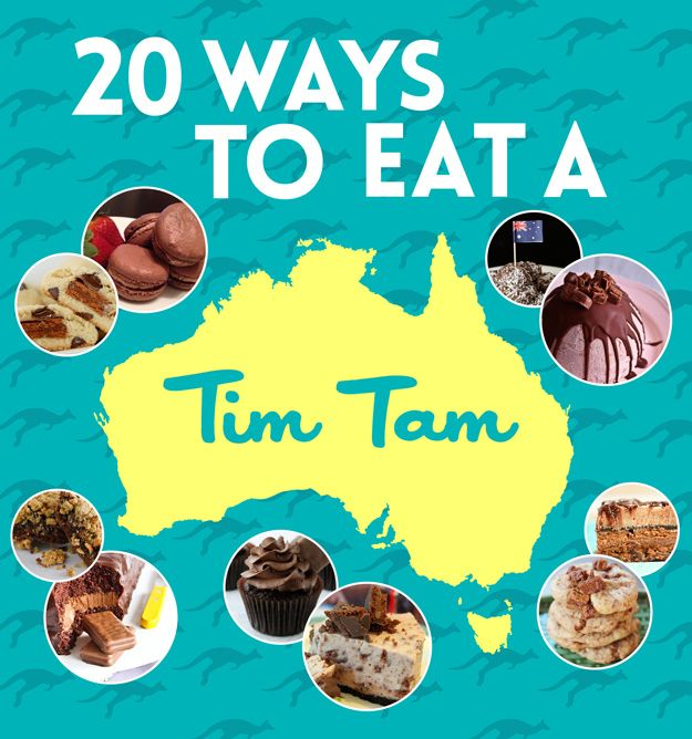 20 Ways To Eat A Tim Tam There are very few times I actually seriously miss wheat. This is one. WANT TIM TAMS.