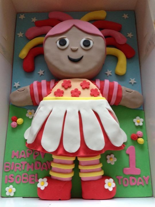 Upsy Daisy Cake Decoration : 153 best images about CBeebies Cakes on Pinterest Garden ...