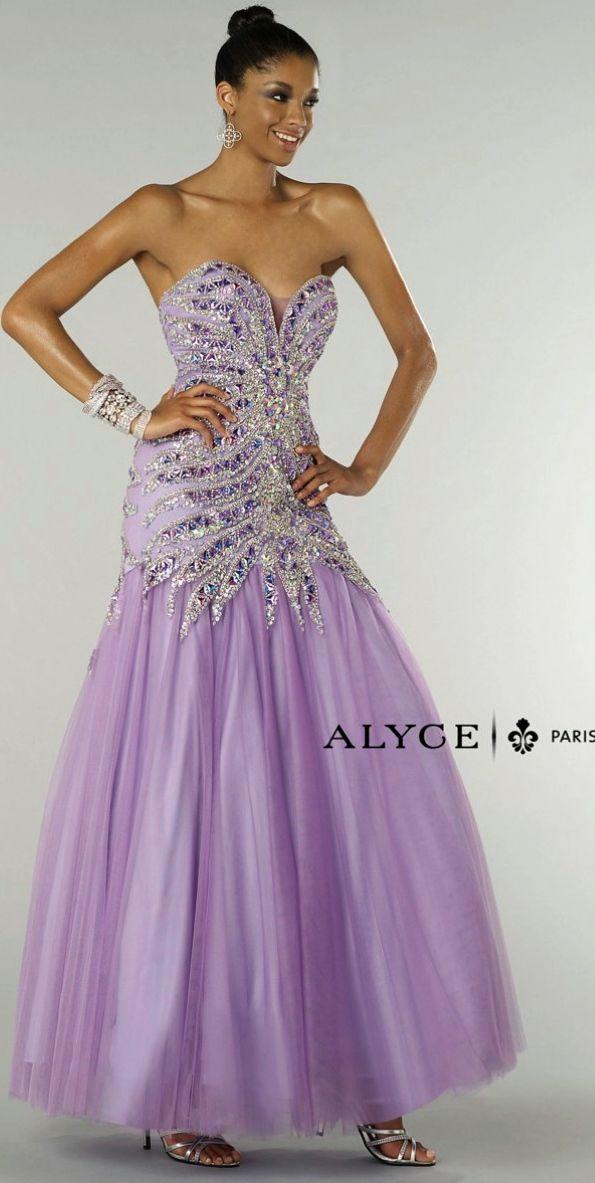 Mejores 9 imágenes de Alyce 6666 en Pinterest | Vestidos de noche ...