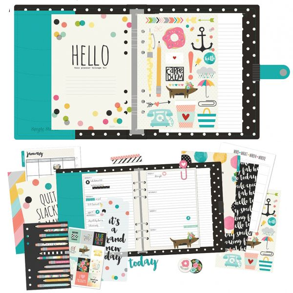 simple stories carpe diem planner - Google Search