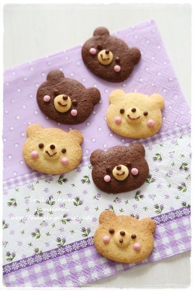 Bear cookies                                                                                                                                                                                 Plus