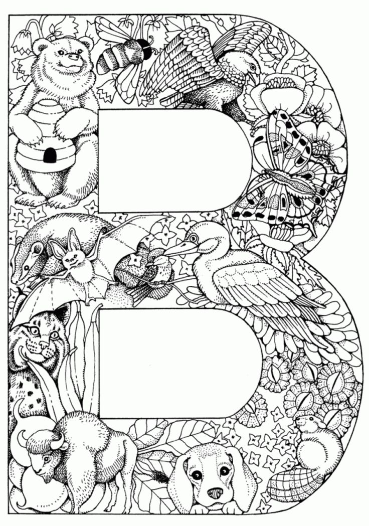 coloring pages alphabet a - 42 best images about adult color pages on pinterest