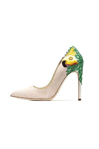 Tendencias: Los zapatos más rompedores de 2013 Influencias brasileñas: stiletto de Rupert Sanderson.