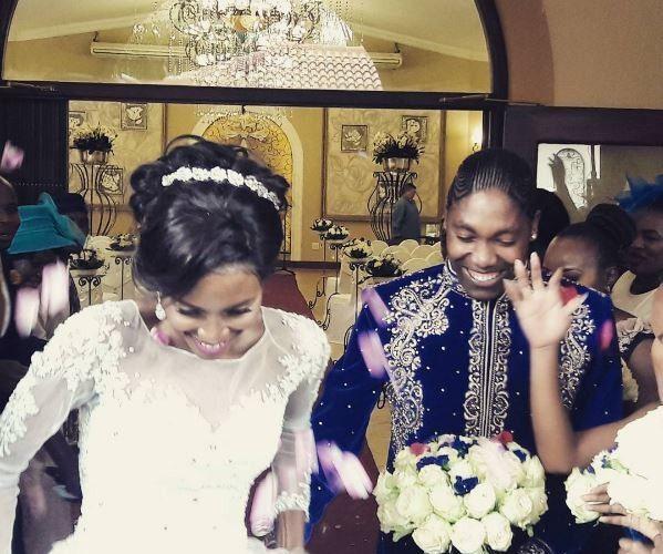 Caster Semenya and Violet Raseboya's white wedding