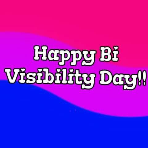 Happy bi visibility day!