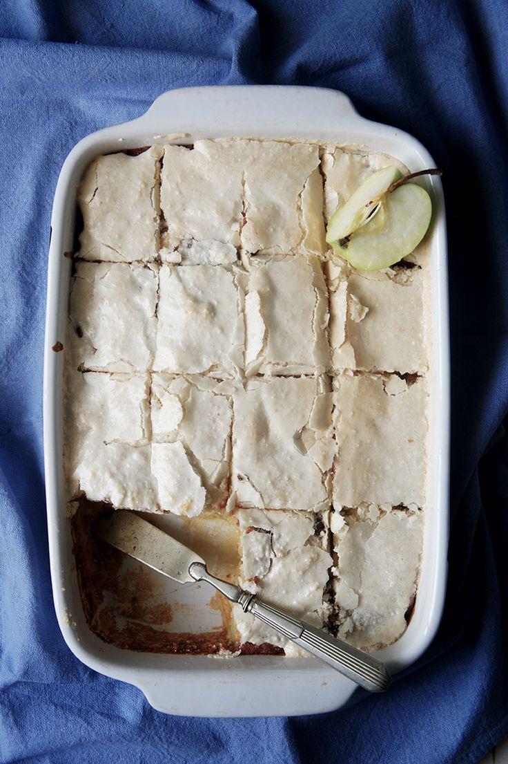 recette du gâteau macaronné aux pommes