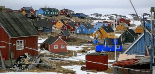 Aasiaat Grönland.,. (18 pieces)