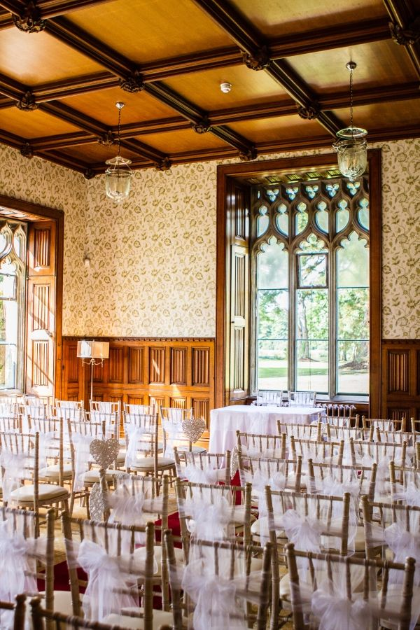 Ceremony Room At Hensol Castle Vale Hotel