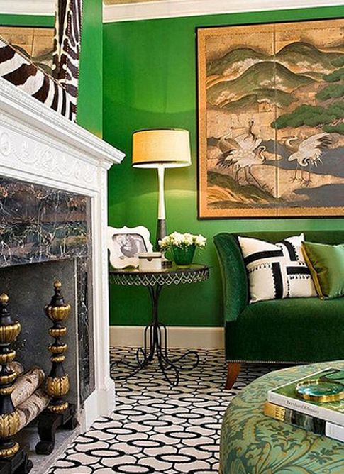 33 Green Living Room Wall Ideas Emerald Green Decorating: 147 Best Images About Paint It! Green On Pinterest