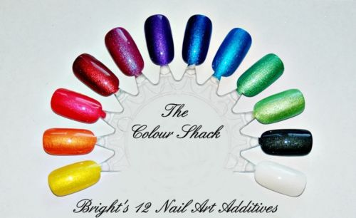 """Glamor Pearl Nail Art Mica Powder Pigment Additive """"Brights 12 Collection"""" ~ I can't wait to get these and try them out!!!!"""