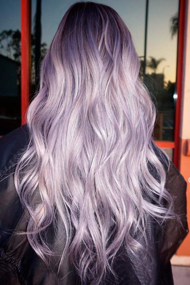 25+ trending Light purple hair ideas on Pinterest   Dyed ...