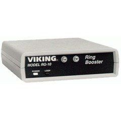 Viking RG-10A Ring Booster by Viking. $162.18. Viking Ring Booster to 10 RenRG-10A is a ring booster designed to increase ringing power of an existing telephone line PABX extension ISDN Terminal Adapter or any other telecom device which provides ringing. It duplicates the incoming ring frequency and cadence allowing it to be compatiblewith custom ringing features. The RG-10A is capable of ringing 15 - std (1REN) phones.