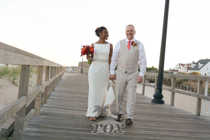 Bethany Beach Delaware boardwalk wedding:  https://www.roxbeachweddings.com/