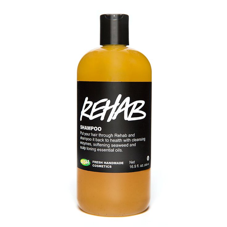 Rehab balances oil levels in hair as well as the peppermint helps stimulate hair growth. If you're trying Lush shampoo's for the first time, stick with Rehab and see the results of natural haircare.