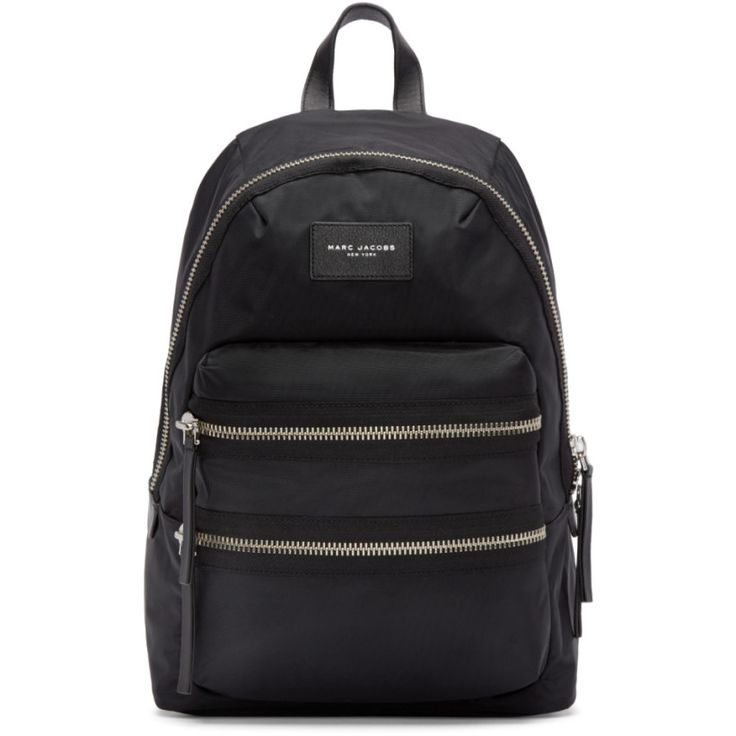 Marc Jacobs - Black Nylon Biker Backpack
