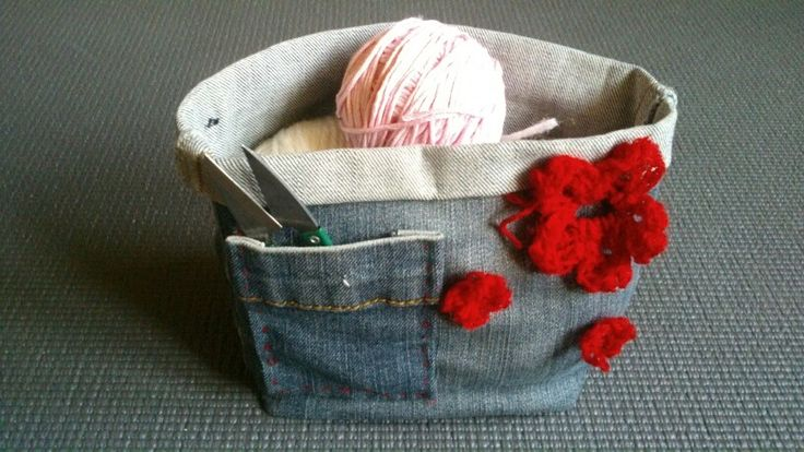 Small jeans basket