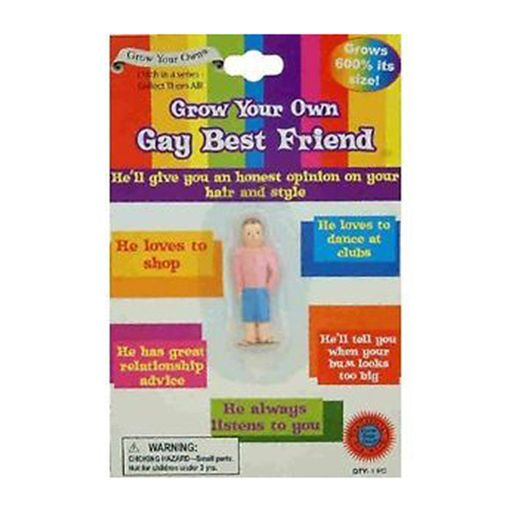 Novelty Grow Your Own Gay Best Friend Adult Joke Diabolical Stag Gag Funny